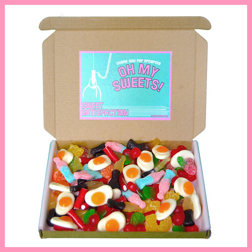 'Oh My Sweets' Box - Sweet Satisfaction