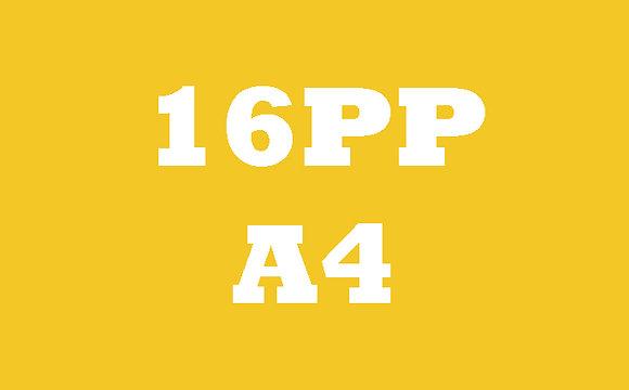 16PP Selfcover 130GSM Gloss OR Matt