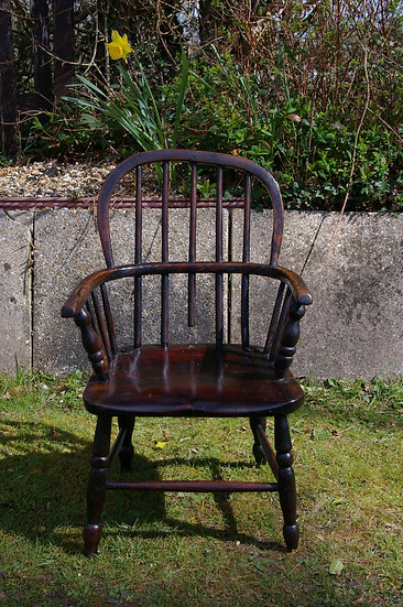 CHILD'S WINDSOR ARM CHAIR
