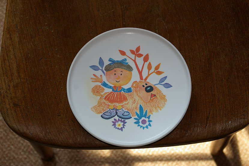 VINTAGE MAGIC ROUNDABOUT PLATE