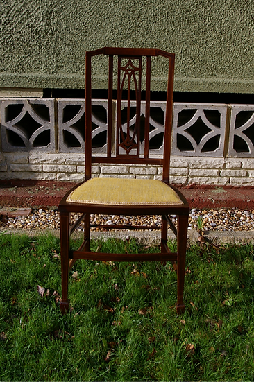 SMALL EDWARDIAN SIDE CHAIR