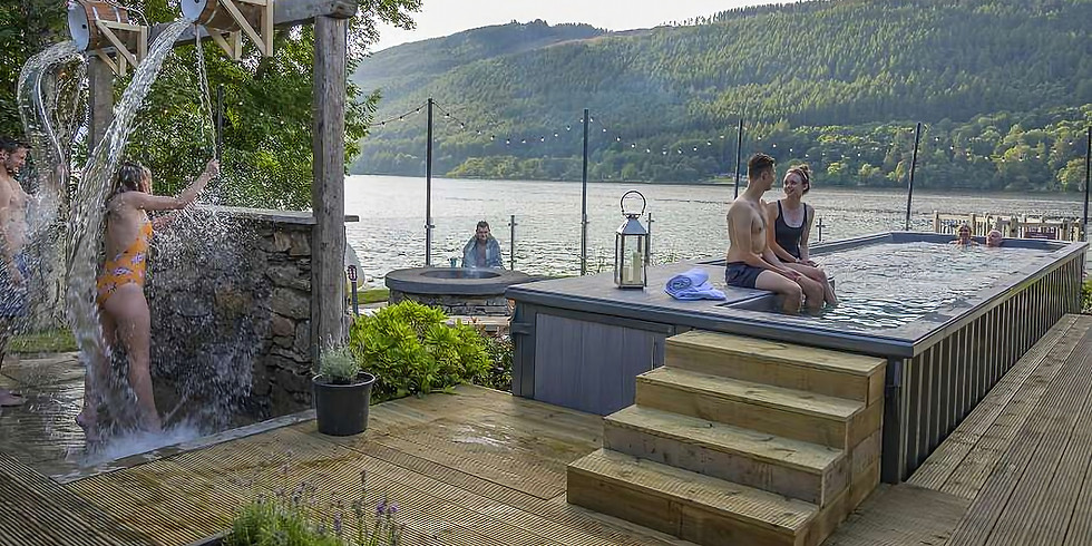 Breath-Cold-Sauna-Cold Slide Plunge-Steam Room-Outdoor Hot Pool- Experience with Allan Brownlie