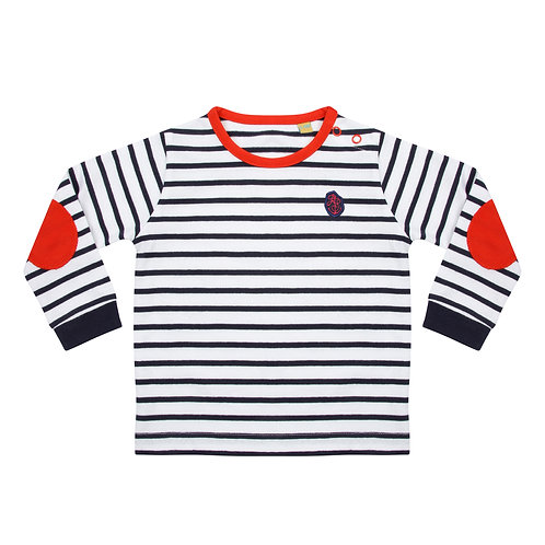 Blue Baby/Toddler Striped Top