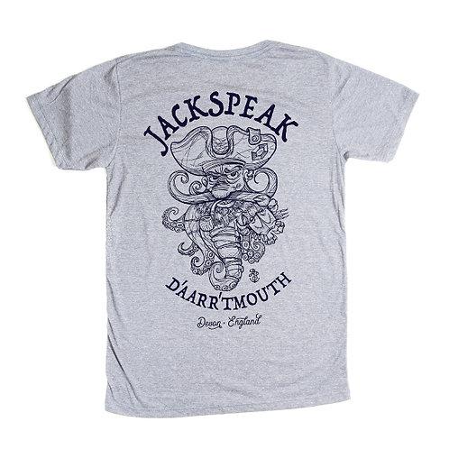 Men's Grey Pirate T Shirt