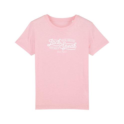 Kids' Pink JackSpeak T Shirt