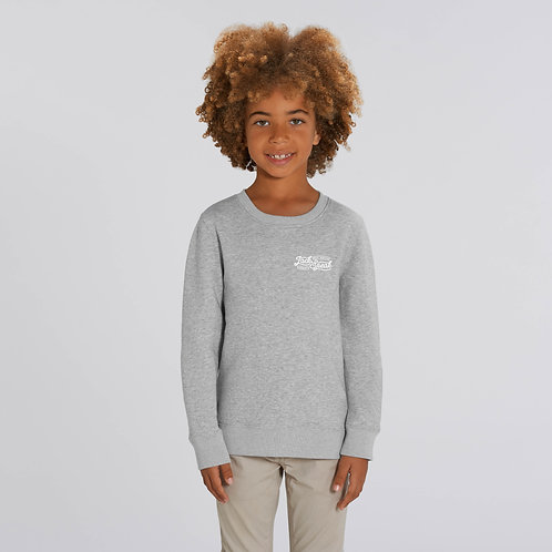 Kids' Grey JackSpeak Sweatshirt