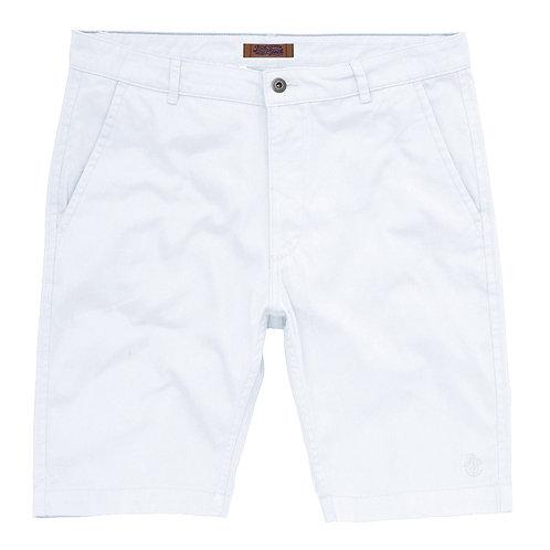 Men's White Chino Shorts