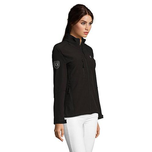 Ladies' Black Soft Shell Jacket