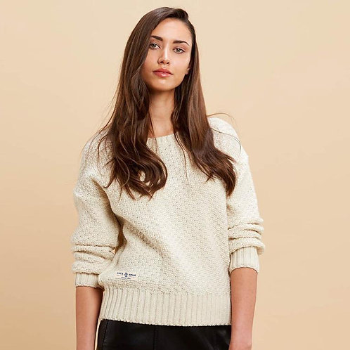 Ladies' Moss Stitch Sweater