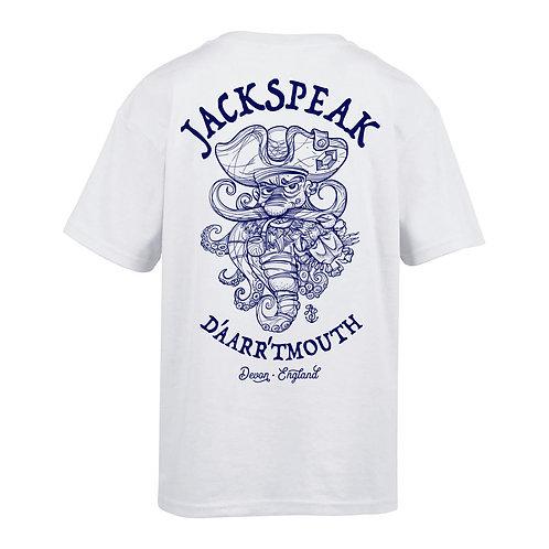 JackSpeak Kids' Pirate T Shirt