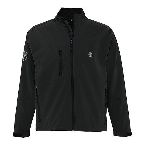 Men's Black Soft Shell Jacket