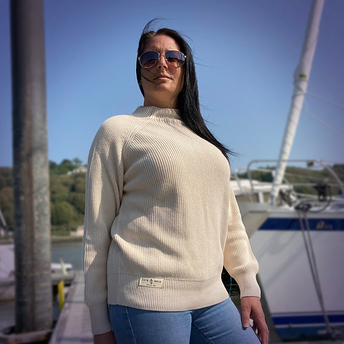Ladies' Cotton Raglan Jumper