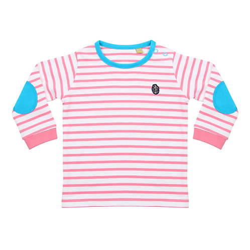 Pink Baby/Toddler Striped Top