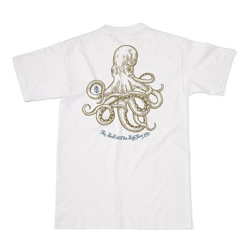 White JackSpeak Kraken T Shirt