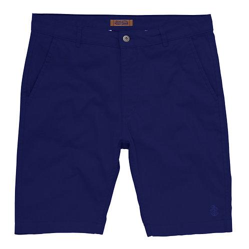 Men's Blue Chino Shorts