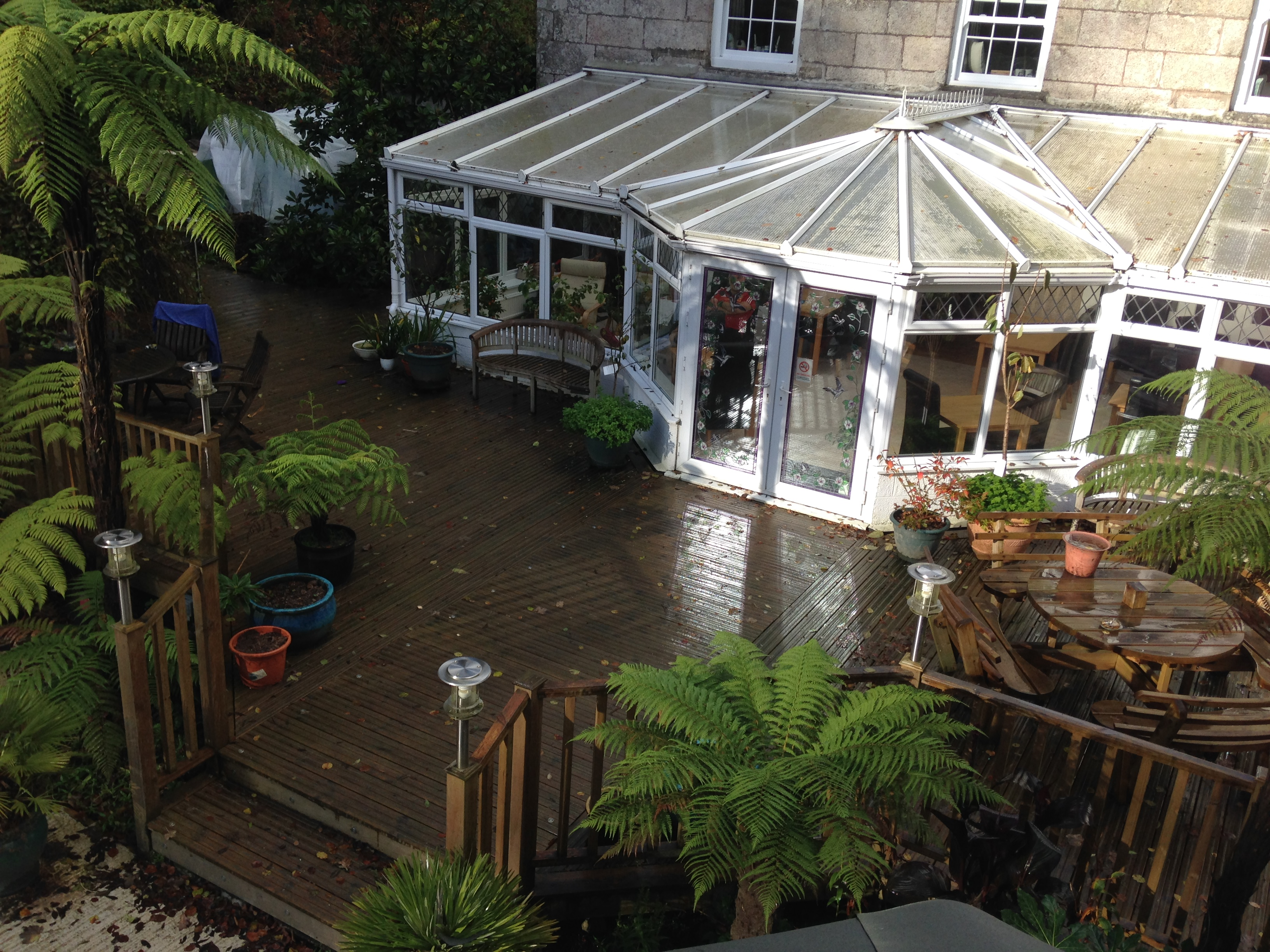 The Waterwheel Inn Conservatory
