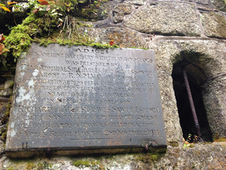 Mennacuddle Well and our centenary memorial