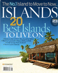 Islands Magazine, Laurel Samuel article