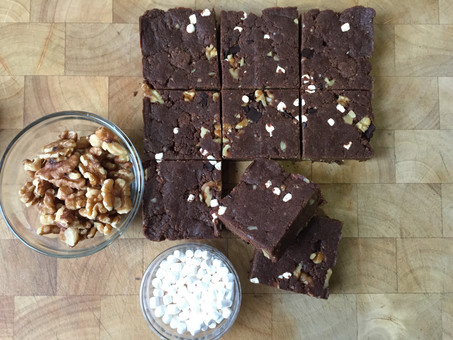 Rocky Road Protein Bars
