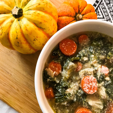 Seasonal Chicken Vegetable Soup