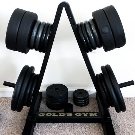 Home Gym - Apartment & Budget Friendly