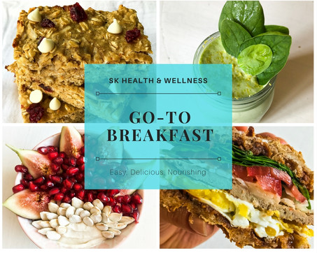 Go-To Breakfast: Easy, Delicious, & Nourishing