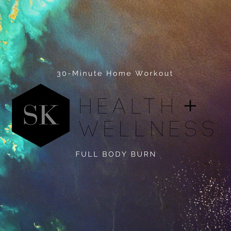 Home Workout: FULL BODY BURN