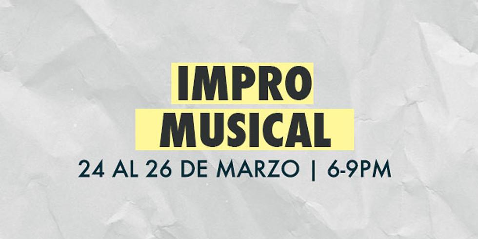 TALLER IMPRO MÚSICAL