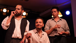 Felipe correa, David Moncada, Victor tarazona, improvisual project