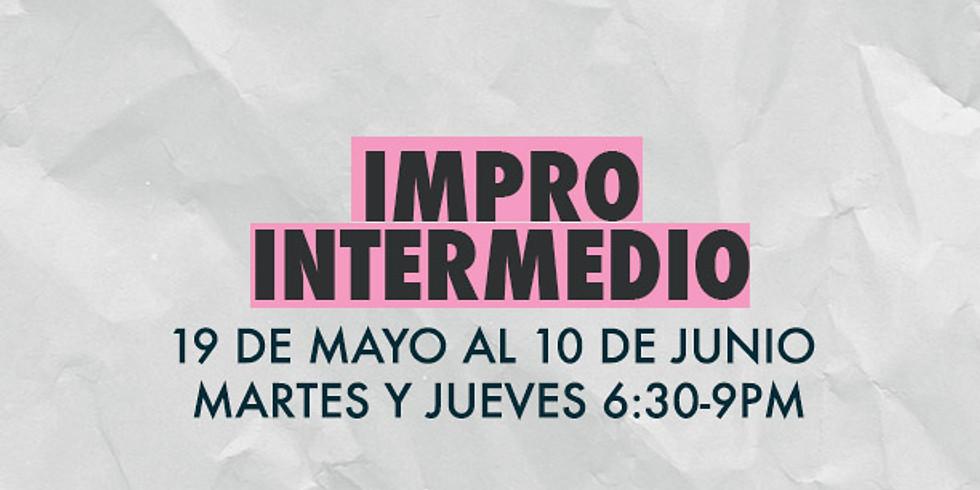 TALLER IMPRO INTERMEDIO