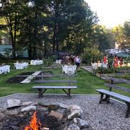 Rehearsal dinner in IWVermont garden.jpg