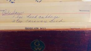 Mom's Recipe Box.