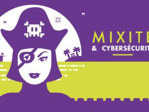 """Infographie: """"Mixité et Cybersécurité"""""""