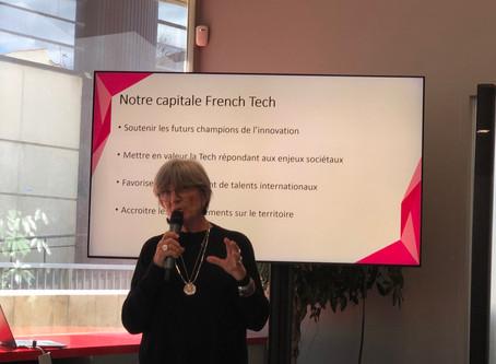 Le label Capitale French Tech attribué à la French Tech Med