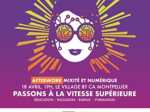 Afterwork « Mixité et Numérique » co-organisé par Femmes Enov et La Mêlée