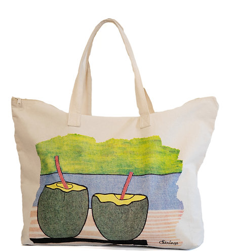 """""""Cooling Down"""" Tote"""