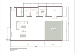 Studio A Floorplan
