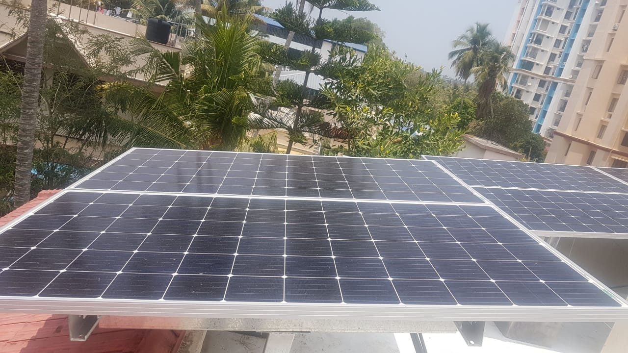 2Kwp Off Grid Solar Plant
