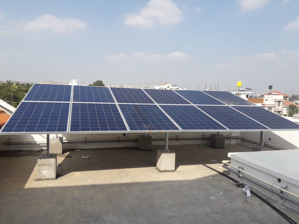 3 Kwp Off Grid Solar Plant