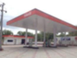 petrol bunk solar