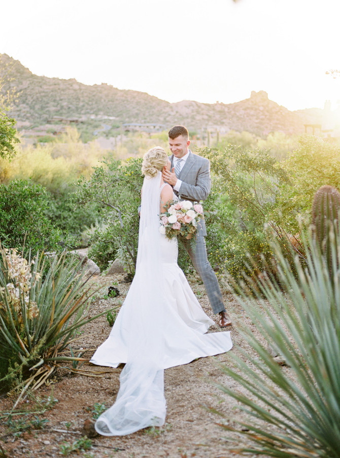 Cassie + Kevin's Intimate Spring Four Seasons at Troon North Wedding