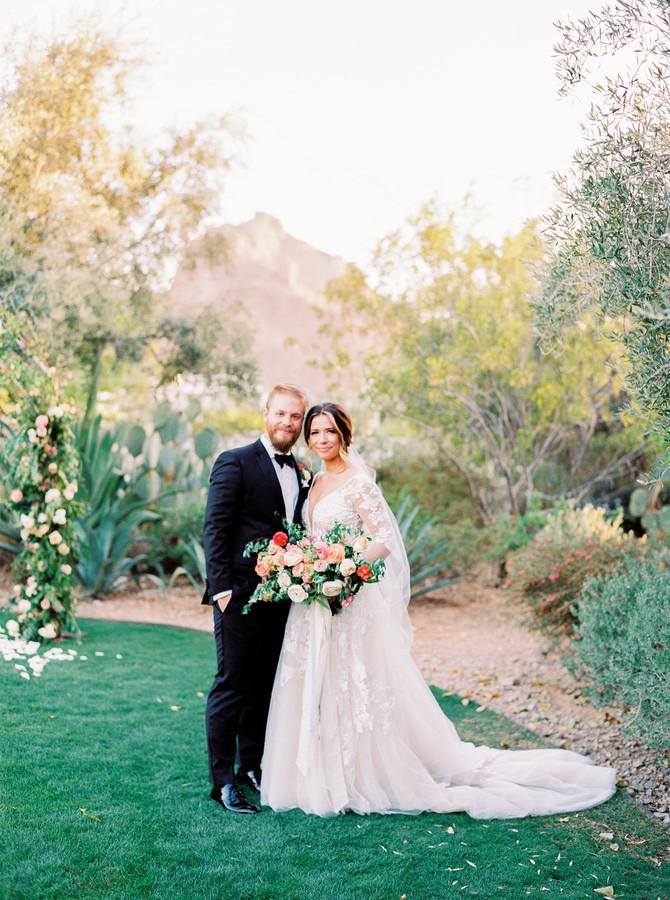 Hannah + Timothy's Charming El Chorro Wedding