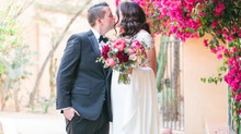 Andy + Gio's Colorful Royal Palms Resort Wedding