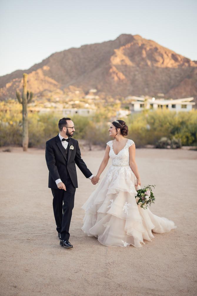 Kaitlyn and Joe's Whimsical, Desert Wedding