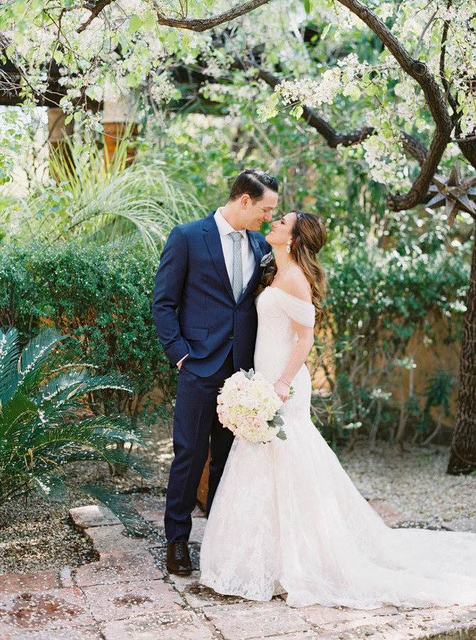 Amanda + Michael's Royal Palms Resort Phoenix Wedding