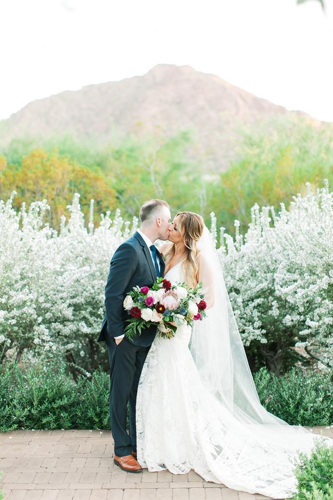 Julia + John's Colorful El Chorro Wedding