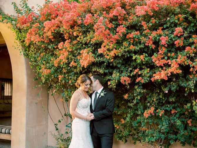 Cat and Chris's Joyful Royal Palms Wedding