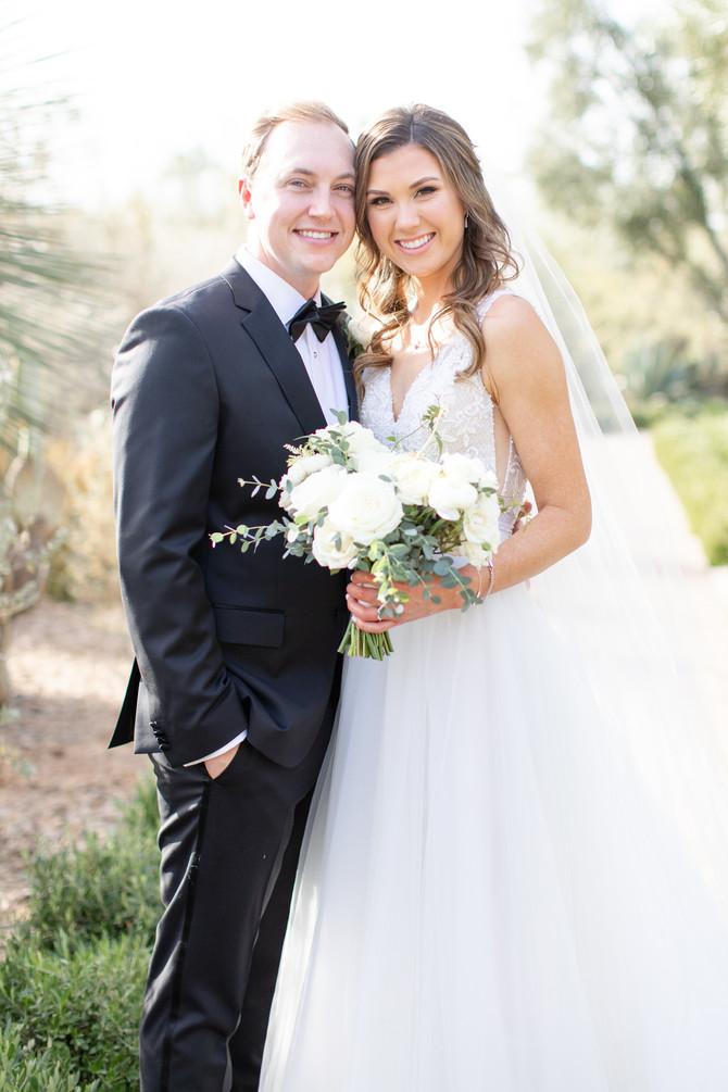 Jessica and Mike's Romantic El Chorro Wedding