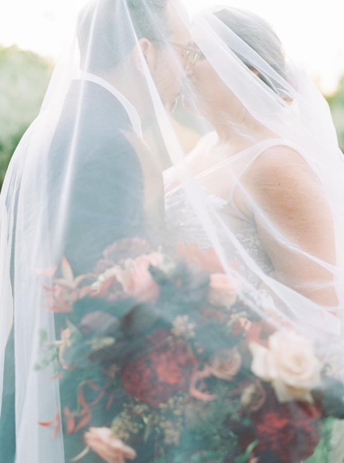 Samantha + Mike's Enchanting Fall El Chorro Wedding