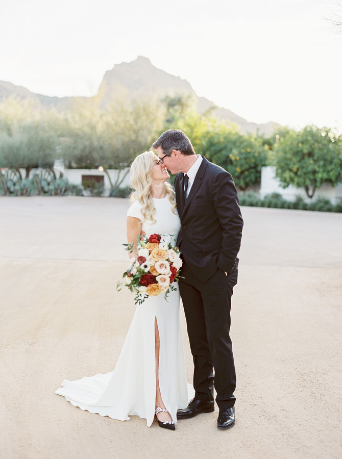 Amy + Jim's Moody El Chorro Wedding